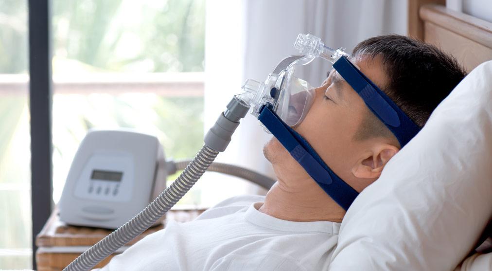 Máscara de oxígeno ronquidos